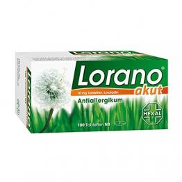 Lorano akut 10 mg Tabletten, 100 St -